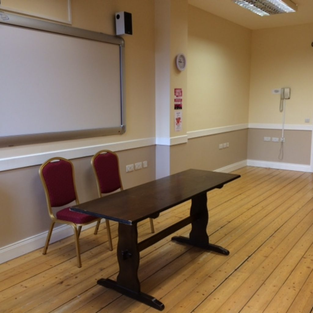 Carrigaloe Room (Room 8) when partitioned